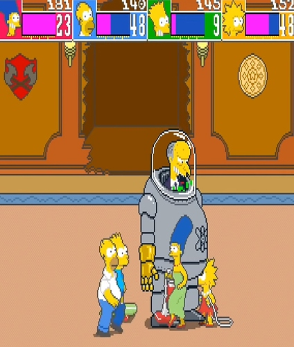 The-simpsons-arcade-game-mr-burns-boss-battle-konami