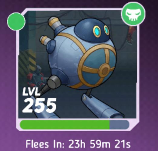 calhoun - lvl 255 boss after attack